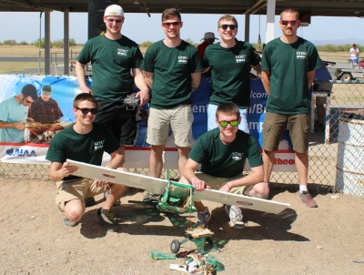 2015 AIAA Design Build Fly Competition Team