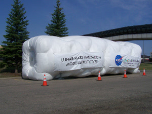 Inflatable Lunar Habitat