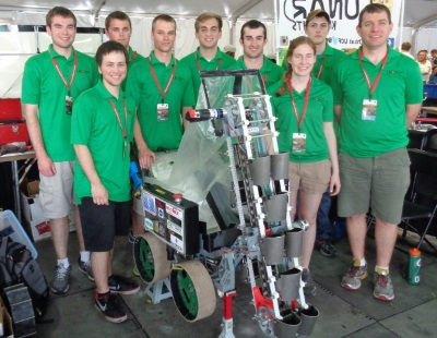 2015 NASA Robotics Mining Competition Team